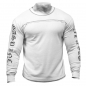 GASP INC Thermal Langarmshirt weiss