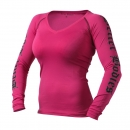 Womens Flex L / S hot pink