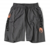 GASP US MESH TRAINING SHORTS - kurze Trainingshose Grau