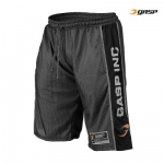 GASP Logo Mesh Shorts, black
