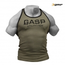 GASP Ribbed T-back wash-green