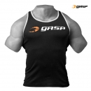 GASP Ribbed Tank black