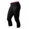Fitness 3/4 Tights, Black/Sangria