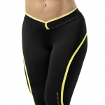 Shaped Jazzpant,Black/Yellow