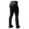 Shaped Jazzpants Schwarz/Rot