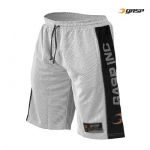 GASP No1 mesh shorts white/ black