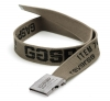 GASP Vintage Belt Black Washed Khaki