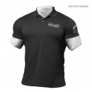 Better Bodies Collar Tee schwarz