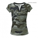 Better Bodies Fitness V-tee camoflage