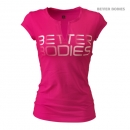 Better Bodies Fitness V-tee pink