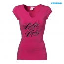 Better Bodies Raw Energy Tee pink