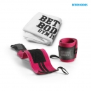 Womens Wrist Wraps Hot pink + Towel for free