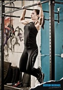 Angebot Fitness Long Tights schwarz von Better Bodies reduziert